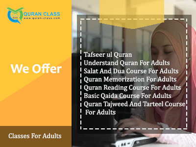 Quran Classes for Adults